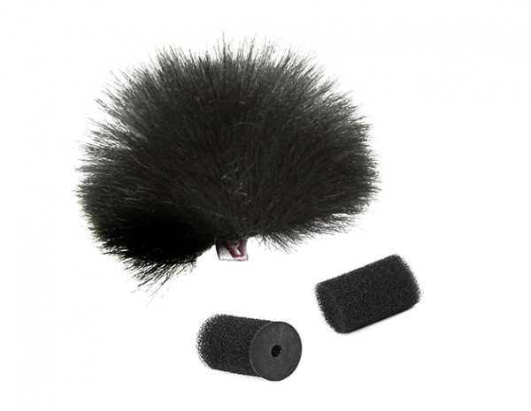 Pachet Boya BY-WM4 Pro-K1 Microfon tip Lavaliera Wireless cu protectie anti-vant 1