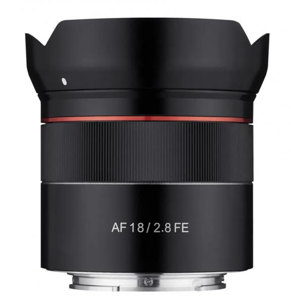 Pachet Samyang Obiectiv Foto Mirrorless 18mm F2.8 AF Sony FE+Manfrotto Filtru UV 0