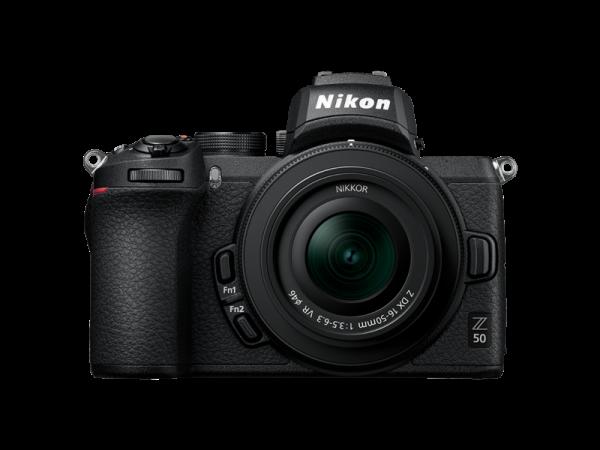 Pachet Nikon Z50 Kit Nikkor Z DX 16-50mm f/3.5-6.3 VR+Manfrotto Rucsac 0