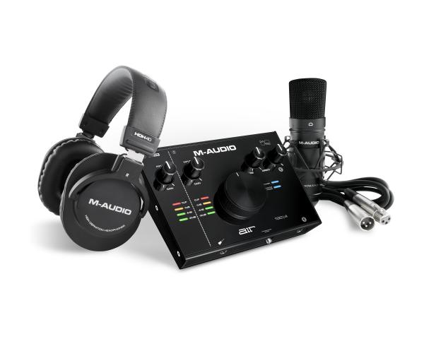 Pachet M-Audio Kit Air Vocal Studio Pro cu filtru POP si anti-soc 0