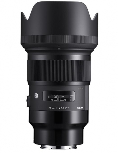 Pachet Sigma 50mm f/1.4 DG HSM Art Sony E + Manfrotto Monopied element Red 0