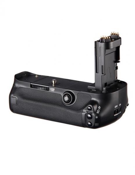 Pachet Digital Power grip pentru Canon 5D Mark III + Digital Power LP-E6 acumulator 1865mAh pentru Canon 5D, 6D, 7D, 60D, 70D + Digital Power Incarcator dual LCD pentru acumulatori Canon LP-E6