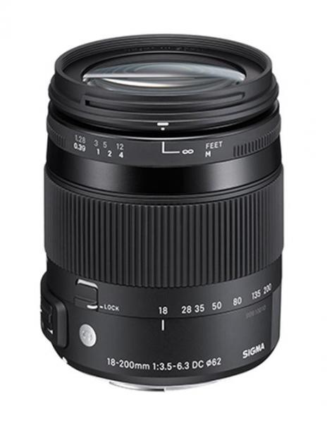 Pachet Sigma 18-200mm F3.5-6.3 DC Macro OS HSM C Nikon + Manfrotto filtru UV 0