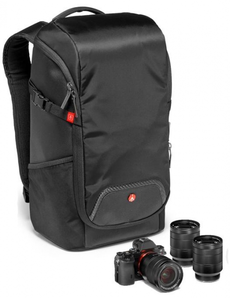 Pachet Manfrotto Befree Advanced Lever Alpha Sony + Manfrotto Advanced Compact rucsac foto