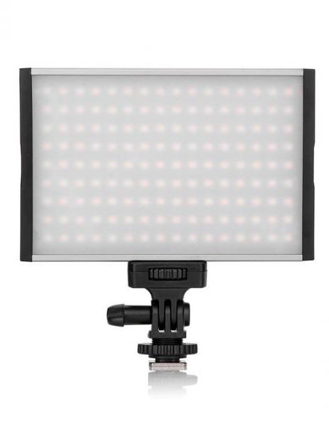 Pachet Tolifo PT-15B PRO LED Bi-Color 3200K-5600K Ultra-Thin + Manfrotto Pixi mini trepied foto Negru 0
