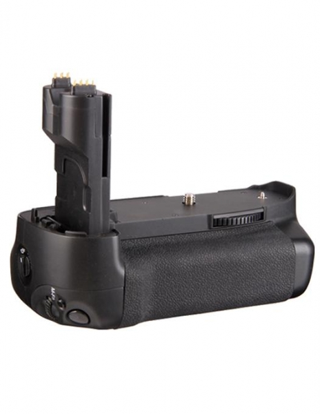 Pachet Travor Grip pentru Canon 7D + Digital Power LP-E6 acumulator 1865mAh pentru Canon 5D, 6D, 7D, 60D, 70D + Digital Power LP-E6 incarcator rapid cu LCD pentru Canon 0