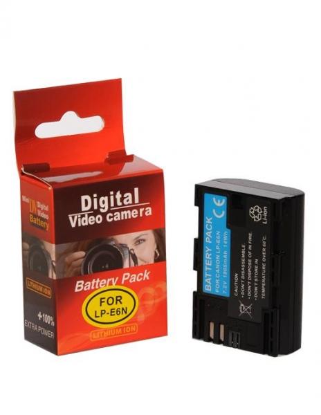 Pachet Digital Power grip pentru Canon 5D Mark III + Digital Power LP-E6 acumulator 1865mAh pentru Canon 5D, 6D, 7D, 60D, 70D + Digital Power LP-E6 acumulator 1865mAh pentru Canon 5D, 6D, 7D, 60D, 70D