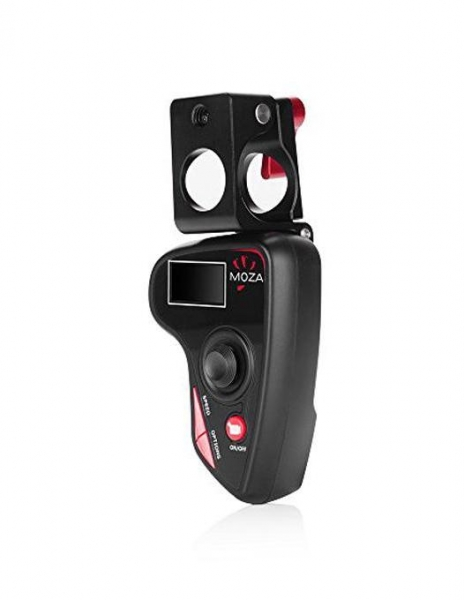 Pachet Gudsen Moza Air Gimbal Dual Handle cu Quick Release inclus (max 3.2kg) + Moza Mini Trepied + Gudsen Moza Wireless Thumb Controller
