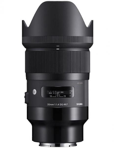 Pachet Sigma 35mm F1.4 DG HSM Art Sony E + Manfrotto Filtru UV Slim 67mm 0