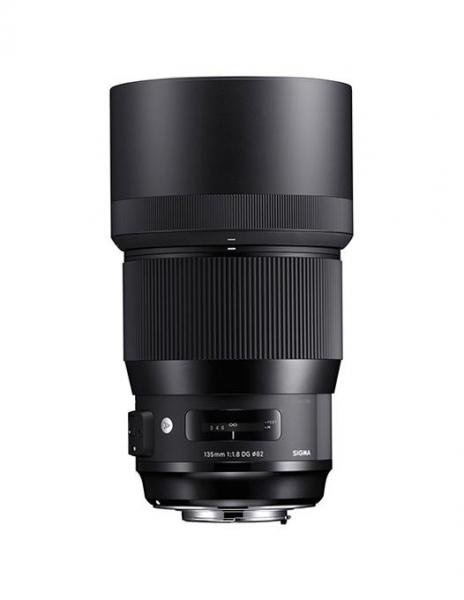 Pachet Sigma 135mm f/1.8 DG HSM Art Canon+Manfrotto Filtru UV Slim 82mm 0