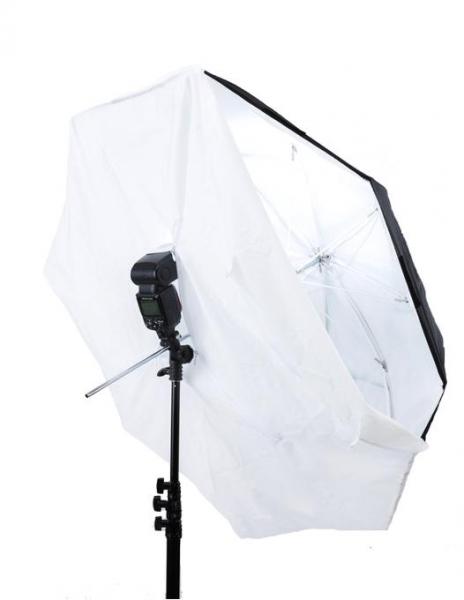 Pachet Lastolite Umbrela 8 in 1 93cm + Manfrotto Smart Tilt, suport umbrela cu patina pentru blitz + Lastolite LS1159 Stativ 0