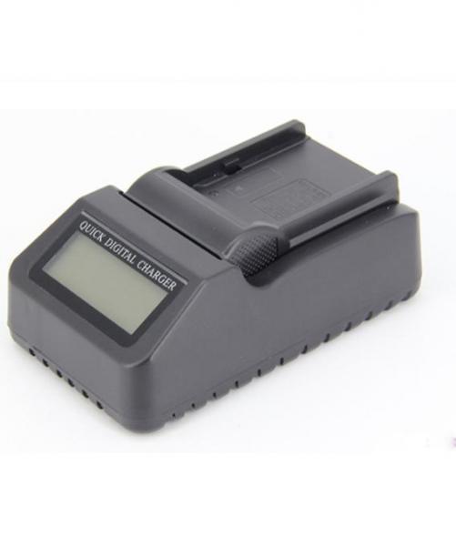 Pachet FeelWorld Monitor 7 Inch IPS 1920x1200 4K SDI/HDMI Input Output Carcasa Aluminiu + Digital Power NP-F960/F970 acumulator pentru Sony + Digital Power incarcator rapid cu LCD pentru Sony 2