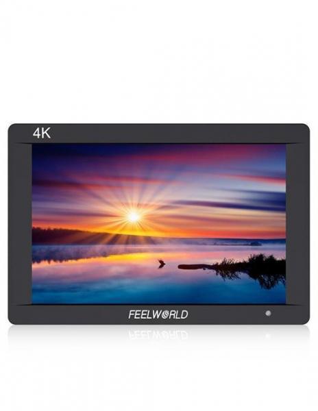 Pachet FeelWorld Monitor 7 Inch IPS 1920x1200 4K SDI/HDMI Input Output Carcasa Aluminiu + Digital Power NP-F960/F970 acumulator pentru Sony + Digital Power incarcator rapid cu LCD pentru Sony 0