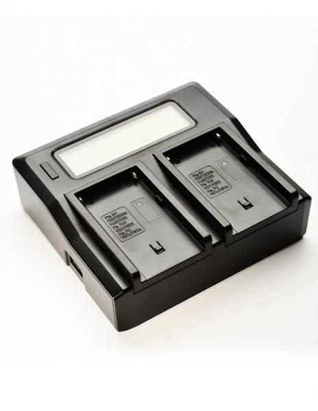 Pachet Digital Power Incarcator dual LCD pentru acumulator Sony NP-FM50 + Digital Power NP-F960/F970 acumulator pentru Sony + Digital Power NP-F960/F970 acumulator pentru Sony 0