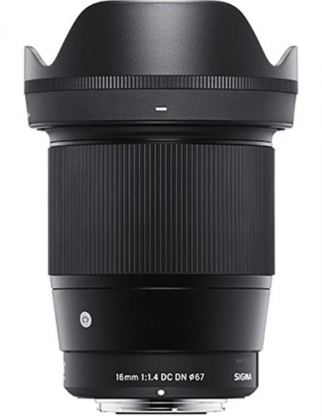 Pachet Sigma 16mm F1.4 DC DN MFT Contemporary + Manfrotto geanta Allegra W 0