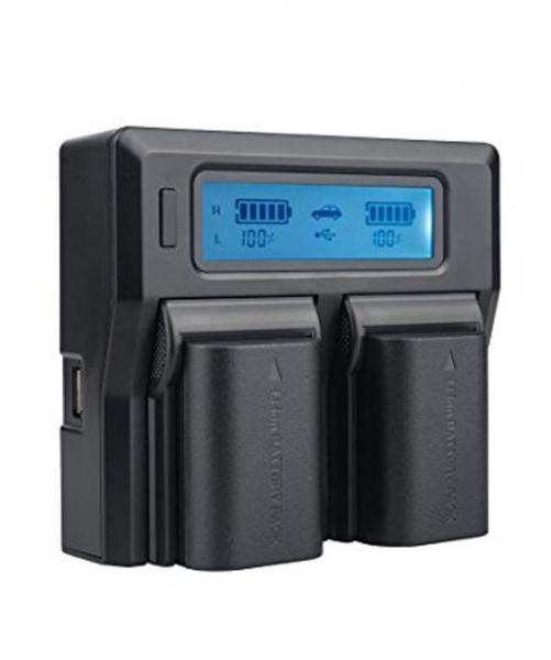 Pachet Digital Power grip pentru Canon 70D + Digital Power LP-E6N acumulator 1865mAh pentru Canon 5D, 6D, 7D, 60D, 70D + Digital Power LP-E6N acumulator 1865mAh pentru Canon 5D, 6D, 7D, 60D, 70D + Dig