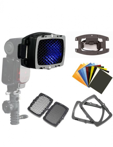 Godox Blitz Ving V860IIC - Canon+Lastolite Strobo Kit Magnetic P 1
