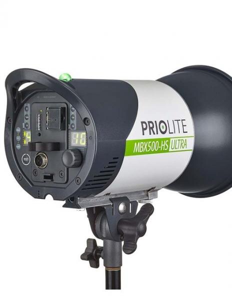 Pachet Priolite 500 MBX500 HotSync blitz portabil + Priolite declansator blitz dedicat Canon 0