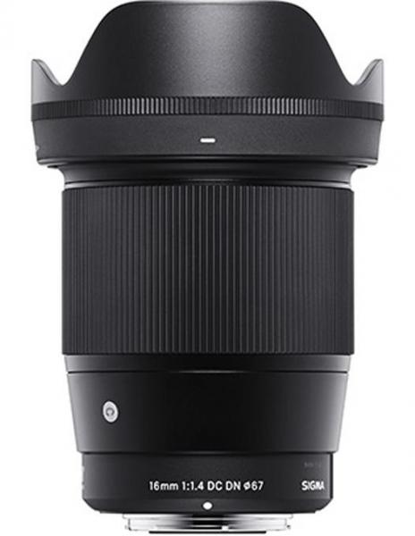 Pachet SIGMA 16mm 1.4 DC DN Sony E Contemporary + Manfrotto geanta foto Allegra W 0