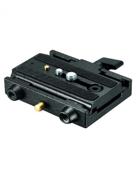 Manfrotto set x 2 adaptor cu placuta culisanta 577 0