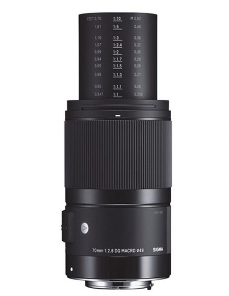 Pachet SIGMA 70mm F2.8 DG MACRO ART Canon + NG Trepied foto-video 0