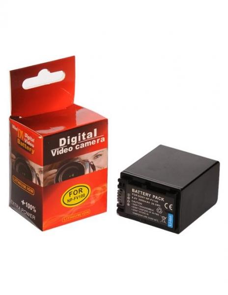 Pachet Digital Power Incarcator dual LCD compatibil Acumulator Sony NP-FV100 + 2 Acumulatori Digital Power NP-FV100 compatibil Sony 1