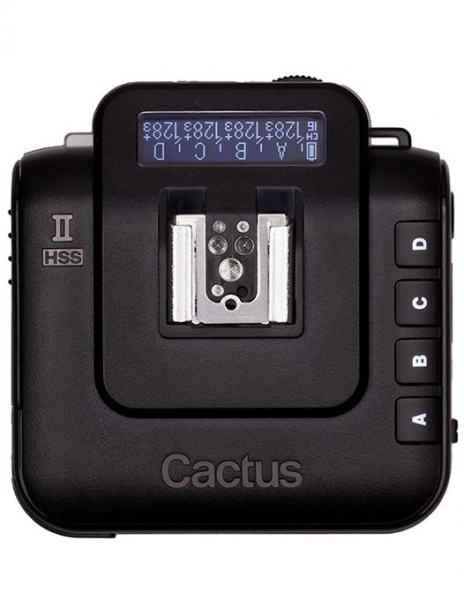Pachet Cactus V6 II HSS declansator wireless transceiver + Cactus V6 II HSS declansator wireless transceiver + Cactus V6 II HSS declansator wireless transceiver