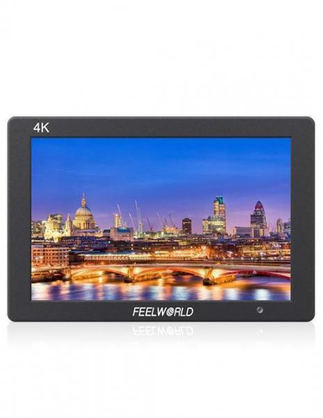 Pachet FeelWorld Monitor 7 Inch IPS 1920x1200 4K HDMI Input Output Carcasa Aluminiu + Digital Power NP-F960/F970 acumulator pentru Sony + Digital Power incarcator rapid cu LCD pentru Sony