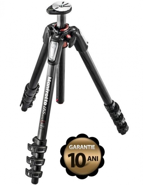 Pachet Manfrotto MVH500AH cap trepied video + Manfrotto 055CXPRO4 trepied foto carbon 0