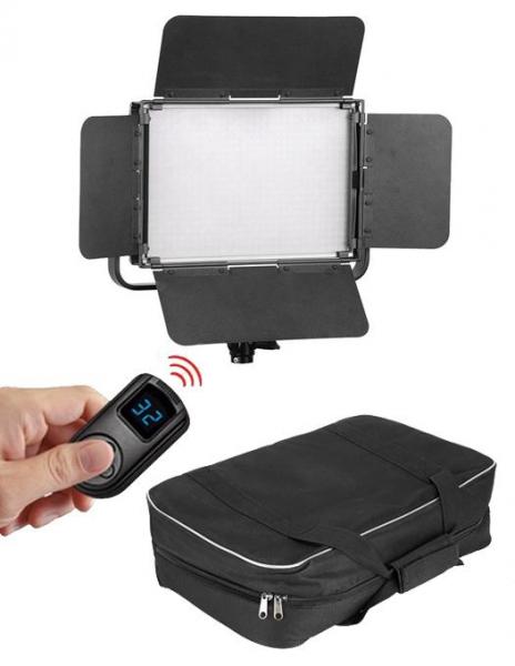 Pachet Tolifo GK-S60 PRO LED Bicolor 3200-5600K DMX 512 + Digital Power NP-F960/F970 acumulator pentru Sony + Digital Power Incarcator dual LCD pentru acumulator Sony NP-FM50 + Digital Power NP-F960/F 0