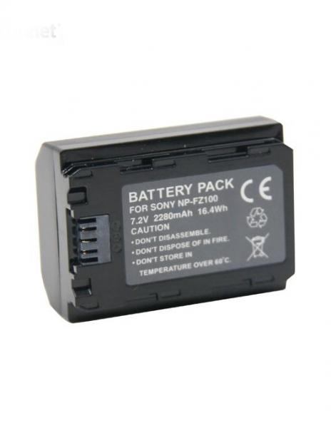 Pachet Sony Incarcator rapid pentru baterie NP-FZ100 + Digital Power NP-FZ100 Acumulator pentru Sony A7 III A7M3 ALPHA 7 III A7 R III A7RM3 7 R III A9 1