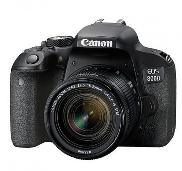 Pachet Canon Kit EOS 800D DSLR 18-55mm+Manfrotto Filtru UV+Manfrotto Rucsac Hover-25 0