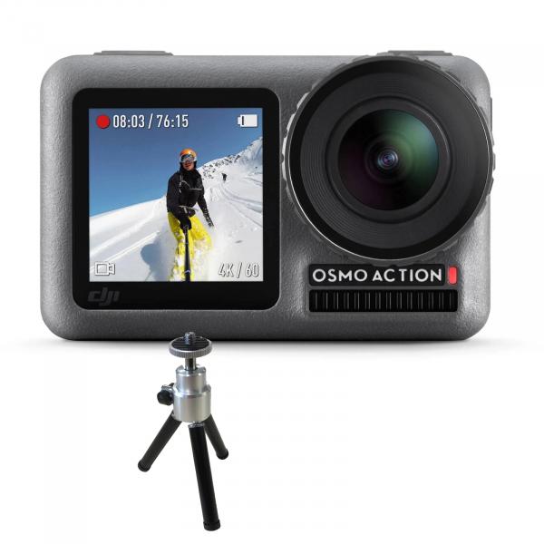 DJI Osmo Camera de Actiune 4k+Manfrotto Minitrepied PixiX 0