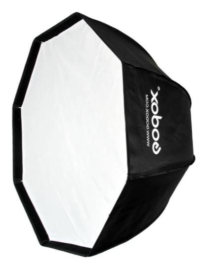 Pachet Godox AD600BM WISTRO 600W Manual All-in-One Outdoor Blitz portabil + Softbox octogonal 120cm 3