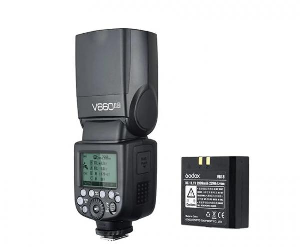 Pachet Godox Blitz Ving V860IIN - Nikon+Lastolite Strobo Kit Magnetic P 0