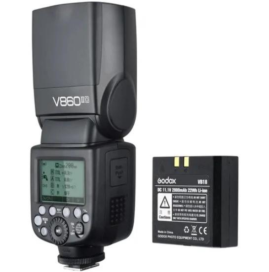 Godox Blitz Ving V860IIC - Canon+Lastolite Strobo Kit Magnetic P 0