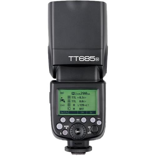 Pachet Godox TT685N Thinklite Blitz TTL HSS Radio Nikon + Softbox 0