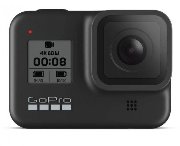 Pachet GoPro Camera de Actiune HERO 8 Black 4K60+Manfrotto Selfie Pole M 0