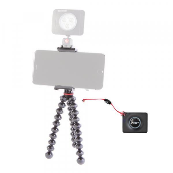 Pachet Joby GripTight Action Kit minitrepied flexibil cu telecomanda+Boya Lavaliera_Manfrotto Led 2