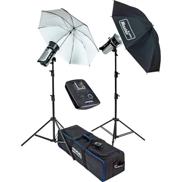 Pachet Hensel Kit de blitz-uri 2xCERTO 400+Hensel Softbox 60x80cm 0