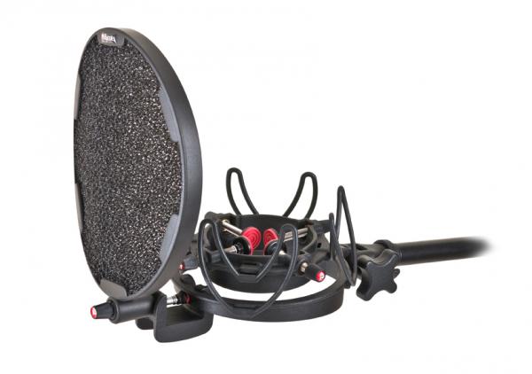 Pachet Audio-Technica ATR2500x Microfon USB cu filtru Pop si suport anti-soc 2