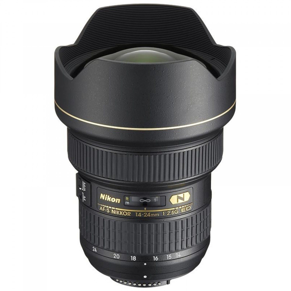 Pachet Nikon AF-S NIKKOR 14-24mm f/2.8G E+Lowepro geanta +NG trepied foto-video 0