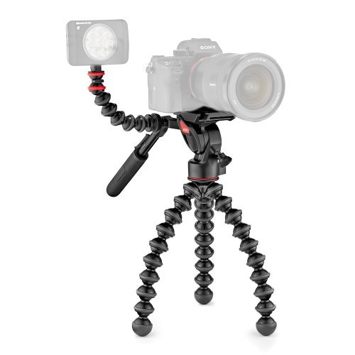Pachet Joby GorillaPod 3K Video PRO minitrepied video+Manfrotto LED Lumimuse 3 0