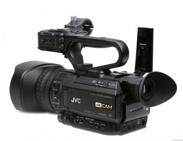 Pachet JVC GY-HM250E camera video 4K Live Streaming + Manfrotto CC 191N geanta video + Kit trepied video MVK502AM + Boya BY-WM6-K2 UHF Fara Fir 0