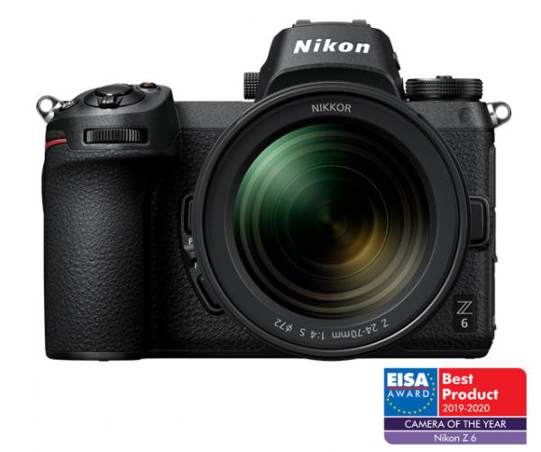 Pachet Nikon Z6 Kit Z 24-70mm f4 S+XQD Card 64Gb+Manfrotto Rucsac Hover-25 0