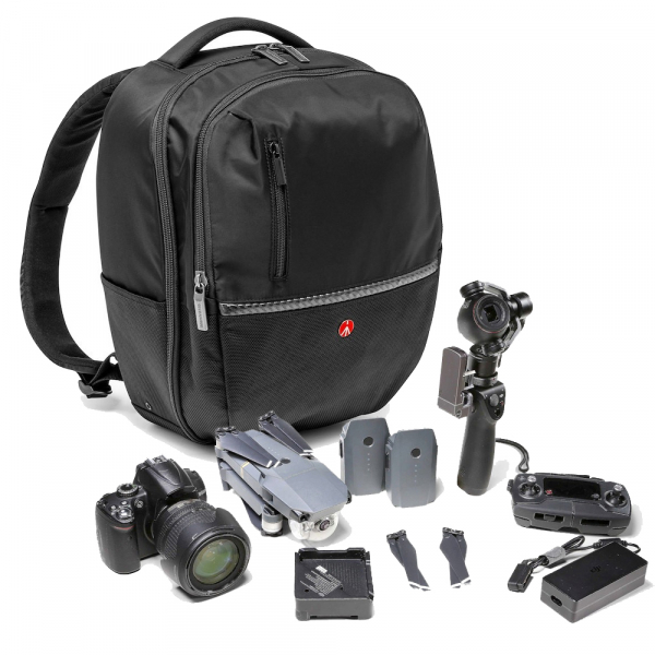 Pachet Sony Kit Aparat Foto Mirrorless Alpha A6400 24.2 MP cu Obiectiv 16-50mm+Manfrotto GPM 1