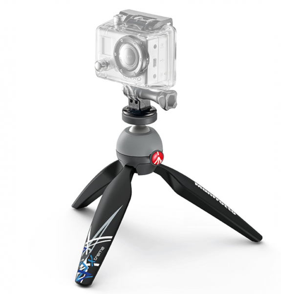 Pachet Nilox Mini F Wi-Fi Full HD Camera actiune + Manfrotto Redbee 110 + Pixi X