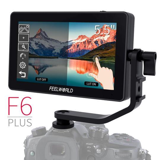 Pachet Feelworld monitor 5.5 inch TouchScreen 3D LUT 4K HDMI 1920x1080+Manfrotto 244MICRO brat articulat 0