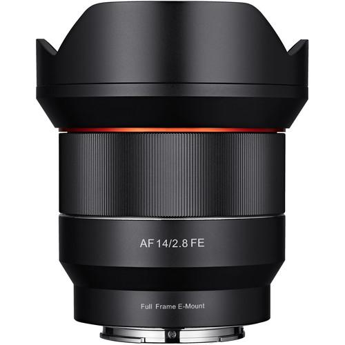 Pachet Samyang Obiectiv Foto 14mm Mirrorless F2.8 AF Montura Sony FE+ Filtru UV Digital King 0