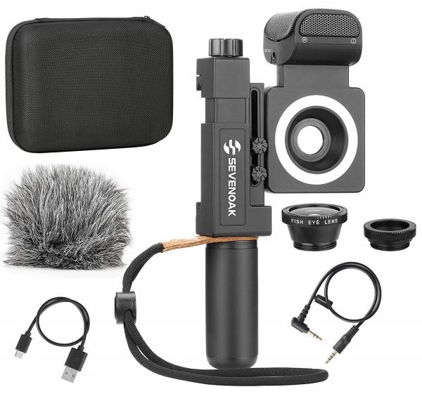 Sevenoak Kit Vlogging SmartCine All-in-One + Manfrotto Sling NX